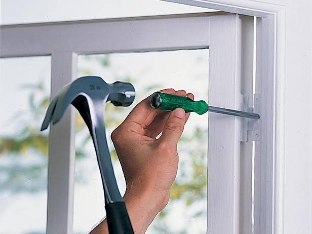 Металлопластиковое окно ремонт своими руками